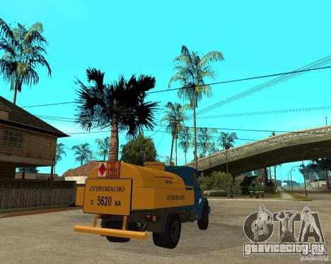 Зил-433362 Extra Pack 2 для GTA San Andreas вид изнутри