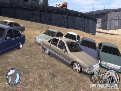 Chevrolet Caprice для GTA 4 вид сзади слева