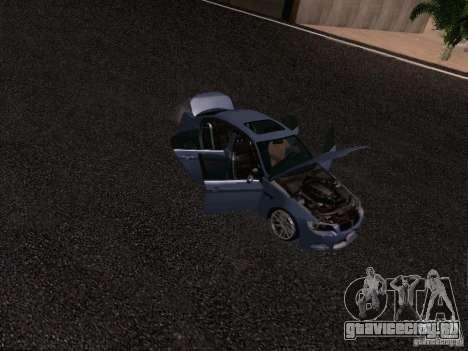 BMW M3 E90 Sedan 2009 для GTA San Andreas вид сверху