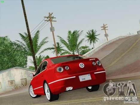 Volkswagen Magotan 2011 для GTA San Andreas вид слева