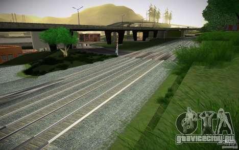 HD Рельсы для GTA San Andreas пятый скриншот