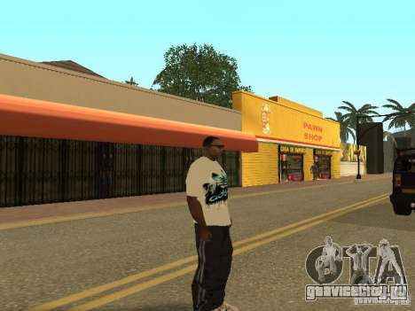 Майка Аdidas для GTA San Andreas четвёртый скриншот