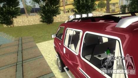 Toyota Town Ace-Tuning для GTA Vice City вид сзади