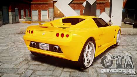 Watson R-Turbo Roadster для GTA 4 вид сзади слева