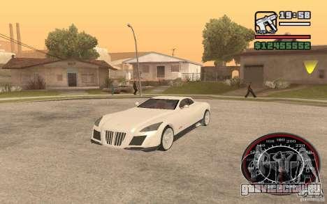 Maybach Exelero для GTA San Andreas