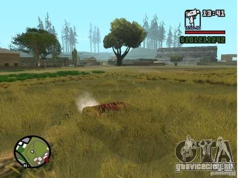 Real Grass v1.0 для GTA San Andreas третий скриншот