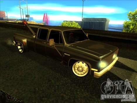 Chevrolet Silverado Towtruck для GTA San Andreas