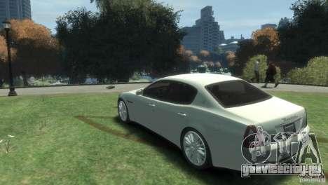 Maserati Quattroporte для GTA 4 вид слева