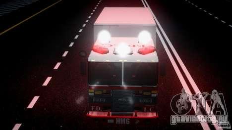 LCFD Hazmat Truck v1.3 для GTA 4 вид снизу