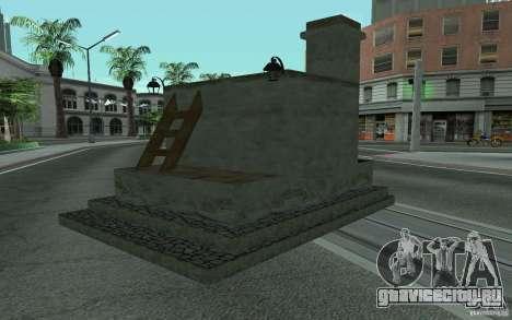 Печка для GTA San Andreas вид слева
