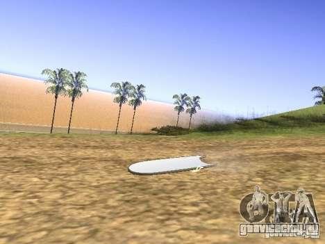 Аэроборд из фильма Назад в будущее 2 для GTA San Andreas вид слева