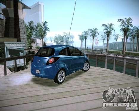Ford Ka 2011 для GTA San Andreas вид слева