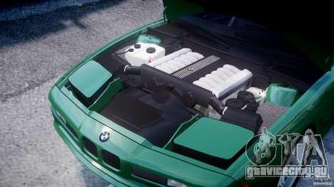 BMW 850i E31 1989-1994 для GTA 4 вид изнутри