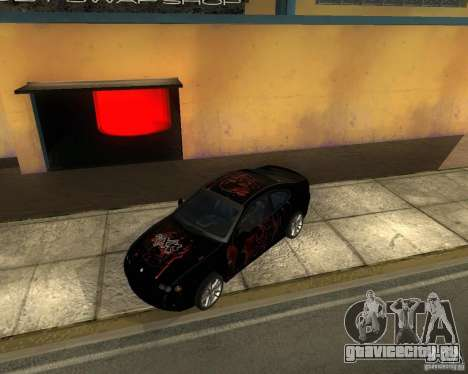 Vauxhall Monaro для GTA San Andreas вид сзади