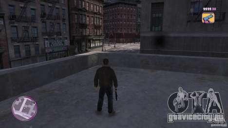 VC Style Radar/HUD (скин 2) для GTA 4 четвёртый скриншот