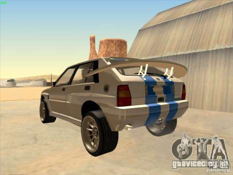 Lancia Integrale Evo для GTA San Andreas вид слева