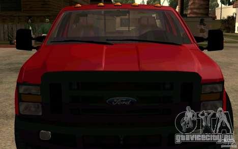 Ford F250 Super Dute для GTA San Andreas вид справа