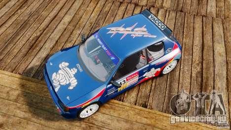 Peugeot 205 Maxi для GTA 4 вид справа