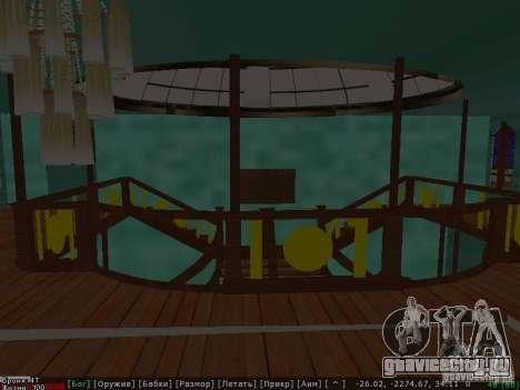 HMHS Britannic для GTA San Andreas вид изнутри