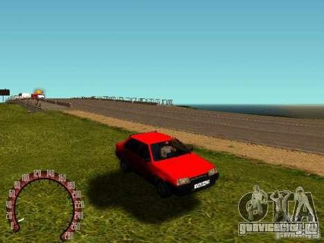 ВАЗ 21099 Спутник для GTA San Andreas вид слева