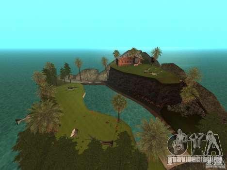 Kapu Pohaku Island v1.2 для GTA San Andreas