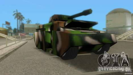 Bundeswehr-Panzer для GTA Vice City второй скриншот