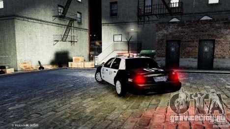 Ford Crown Victoria CVPI-K9 V6.9A-LAPD-ELS для GTA 4