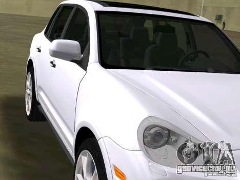 Porsche Cayenne Turbo S для GTA Vice City вид сзади