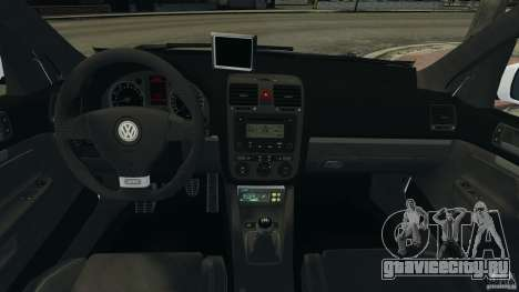 Volkswagen Golf 5 GTI South African Police [ELS] для GTA 4 вид справа