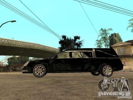Cadillac DTS 2008 для GTA San Andreas вид слева