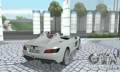 Mercedes-Benz SLR Moss 2008 для GTA San Andreas вид слева