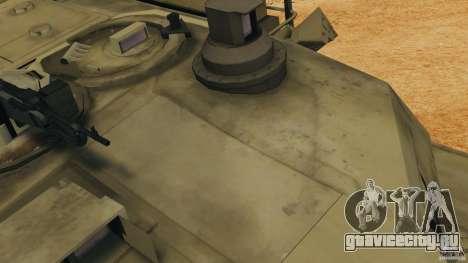 M1A2 Abrams для GTA 4 вид сверху