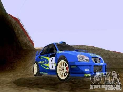 Subaru Impreza WRC 2003 для GTA San Andreas вид слева