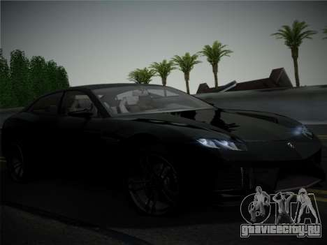 Lamborghini Estoque Concept 2008 для GTA San Andreas салон