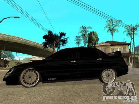 ВАЗ 2110 Penza Tuning для GTA San Andreas вид слева