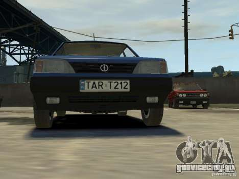 FSO Polonez Каро для GTA 4 вид сверху
