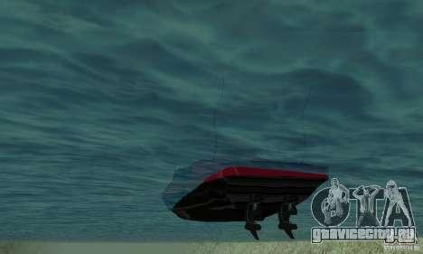 GTAIV TBOGT Smuggler для GTA San Andreas вид сзади