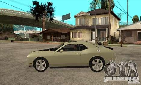 Dodge Challenger SRT8 2009 для GTA San Andreas вид слева