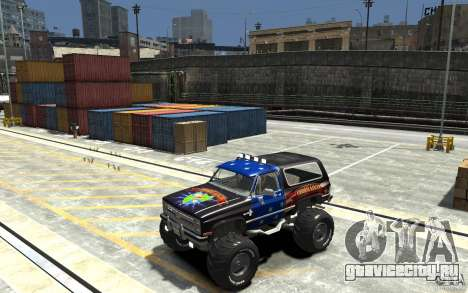 Chevrolet Blazer K5 1986 Monster Edition для GTA 4
