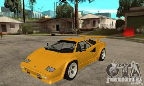Lamborghini Countach для GTA San Andreas