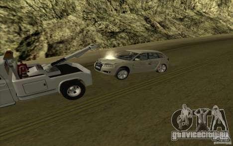 Chevrolet Эвакуатор для GTA San Andreas вид сбоку