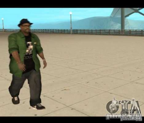 Family Skins Pack для GTA San Andreas пятый скриншот