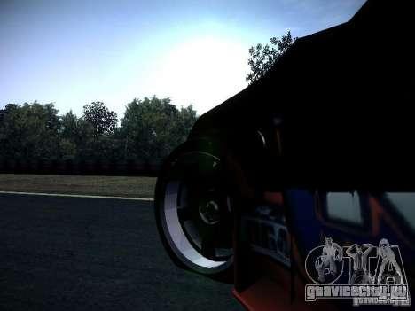 Nissan 370Z Chris Forsberg для GTA San Andreas вид изнутри