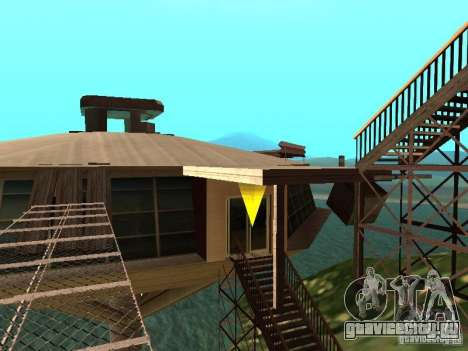 Остров(Mounth Island On The Water) для GTA San Andreas второй скриншот