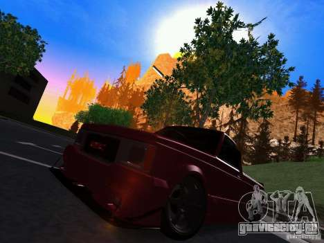 GMC Syclone Drift для GTA San Andreas вид слева