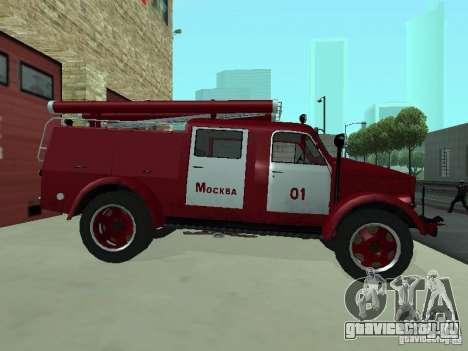 ГАЗ 51 АЦП 20 для GTA San Andreas вид сзади слева