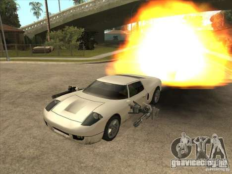 CLEO скрипт: Super Car для GTA San Andreas третий скриншот
