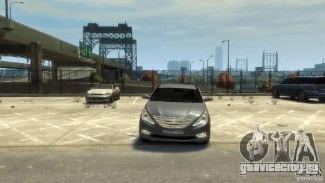Hyundai Sonata для GTA 4 вид сзади