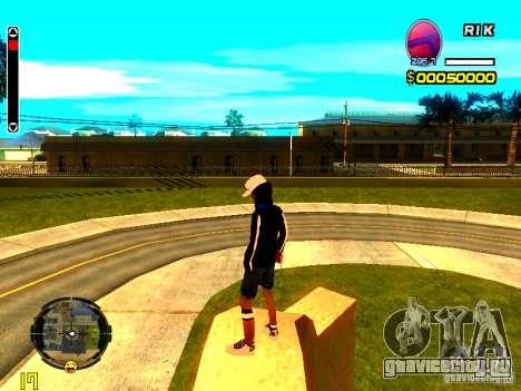 Skin бомжа v8 для GTA San Andreas третий скриншот