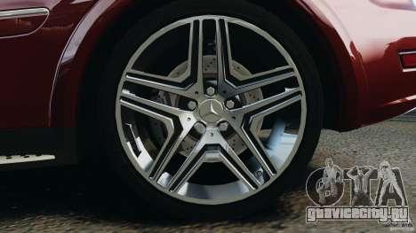 Mercedes-Benz ML63 (AMG) 2009 для GTA 4 двигатель